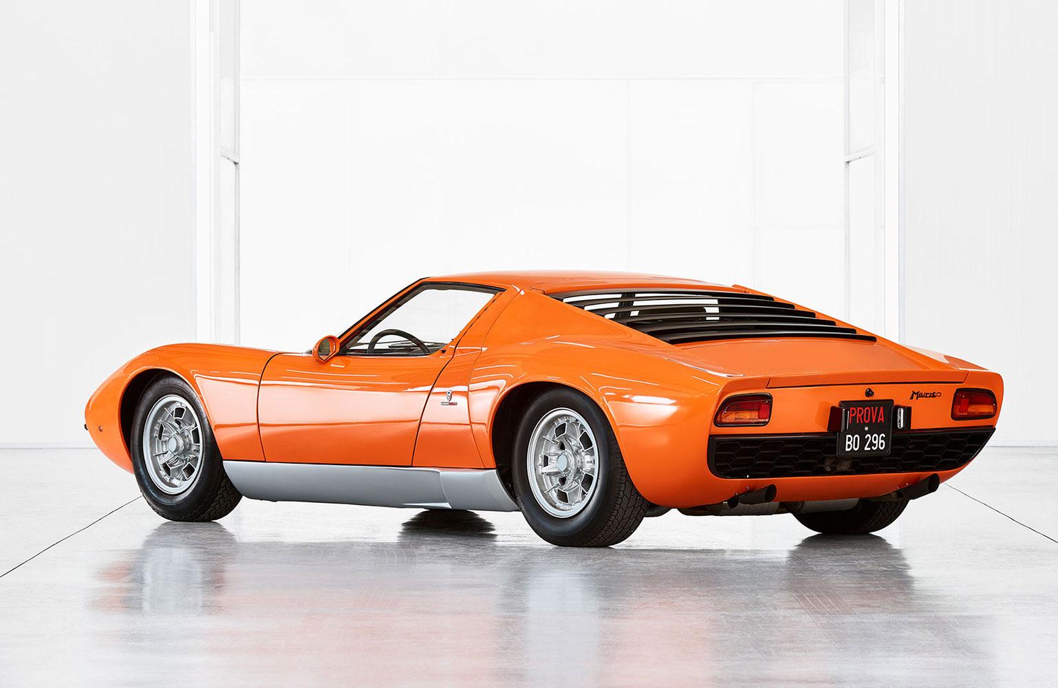 Süper Otomobil: Lamborghini Miura
