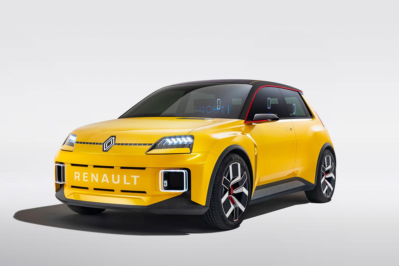 Renault 5 Prototip: R5 elektrikli olarak yeniden doğdu.
