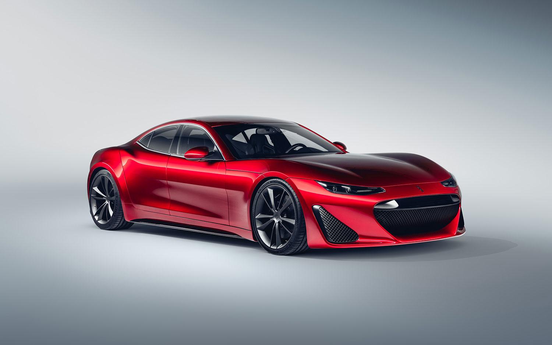 Drako GTE Elektrikli Süper Otomobil