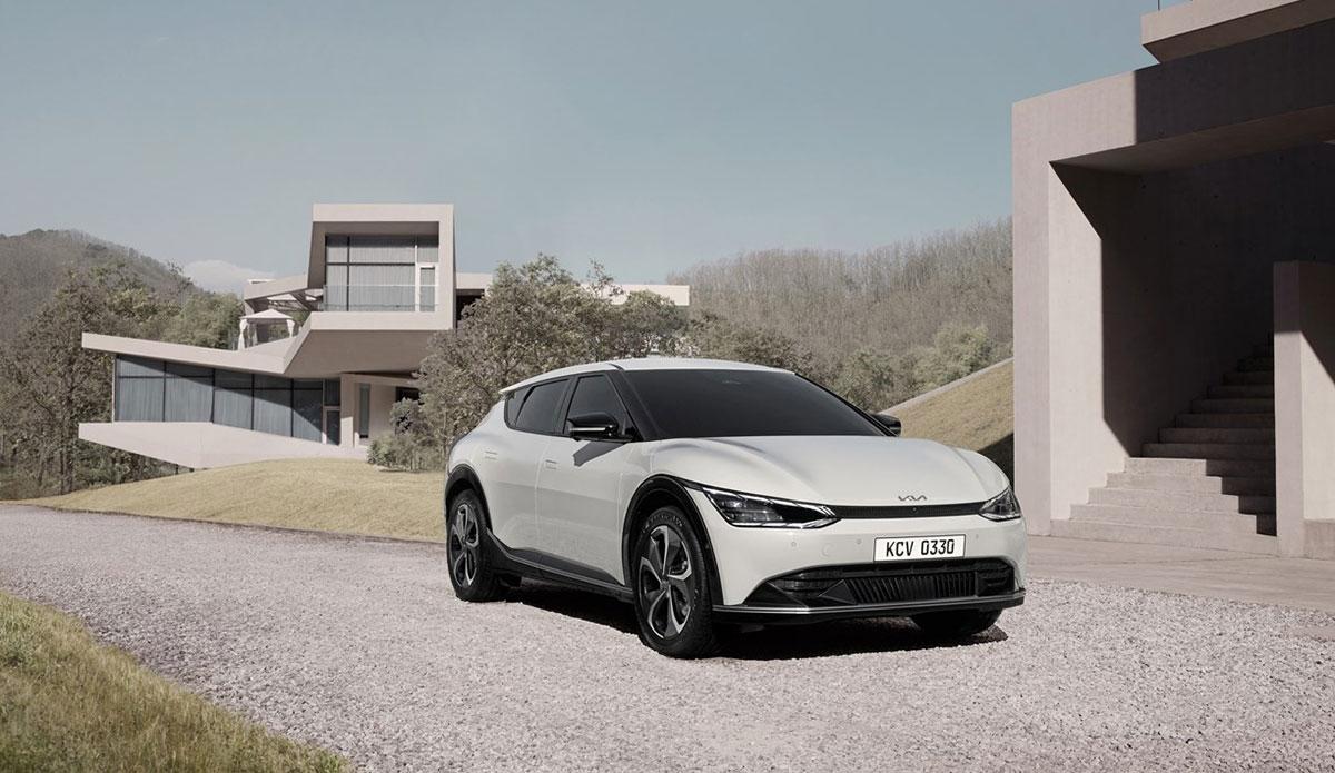 Kia'nın Yeni Elektrikli Otomobili: EV6