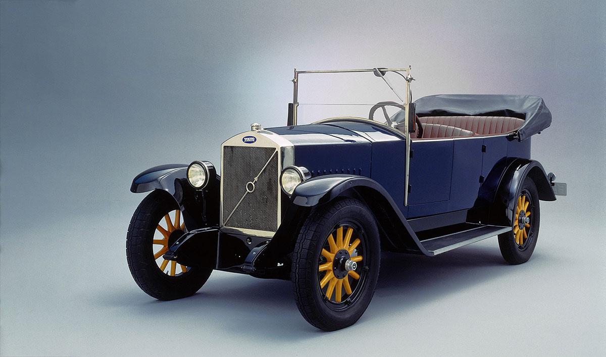 Volvo'nun ilk otomobili: ÖV 4 (Jakob)