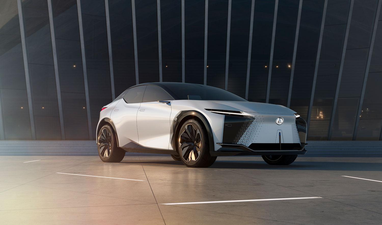 """Lexus'un yeni elektrikli konsept otomobili """"LF-Z Electrified"""" tanıtıldı."""